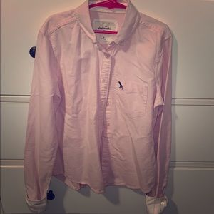 Abercrombie kids oxford shirt for girls size M